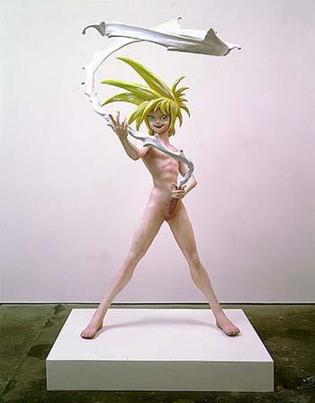 Takashi Murakami -- My Lonesome Cowboy, 1997.jpg